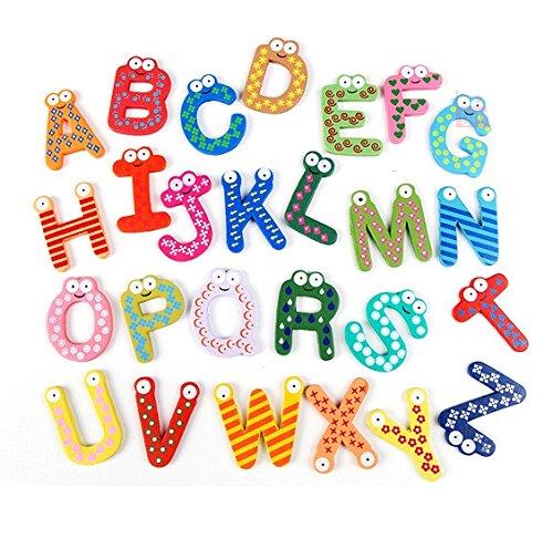Holzbuchstabe Kinderzimmerdeko, Holzbuchstabe - Buchstaben und Zahlen by RIVENBERT
