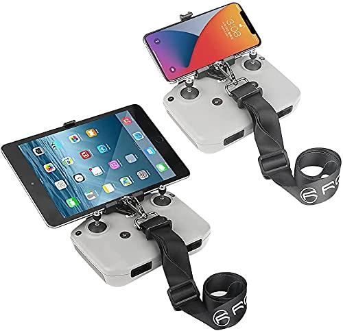 Prodrocam Air 2S Supporto per Tablet - Porta Telefono Tablet con Cinghia per Collo- Holder Cellulare -Stand Smartphone per DJI Air 2 S   Mavic Air 2   Mini 2 (Staffa con Un Cordino Sottile)