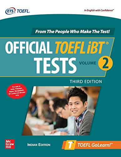 Official TOEFL iBT Tests Volume 2 - Third Edition