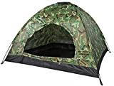 Tent for Camping 2 Persons, Tents for Kids or Adult Camouflage Camping Tent Portable Outdoor Camping Hiking, Backpacking