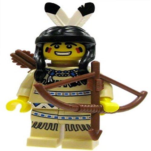 Price comparison product image LEGO Minifigure Collection Series 1 LOOSE Mini Figure Tribal Hunter