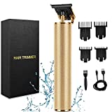 Hair Clippers for Men, Professional Cordless Clippers Hair Trimmer,Electric Pro T-Blade Trimmer Hair Clippers for Men Zero Gap Baldhead Beard Shaver Barbershop