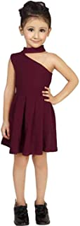 OMNI TRENDS Girls A-Line Midi Frock   One Peice   Beautiful Fancy Small Girls Dresses for Birthdays,Casual,Festivals,Play,...
