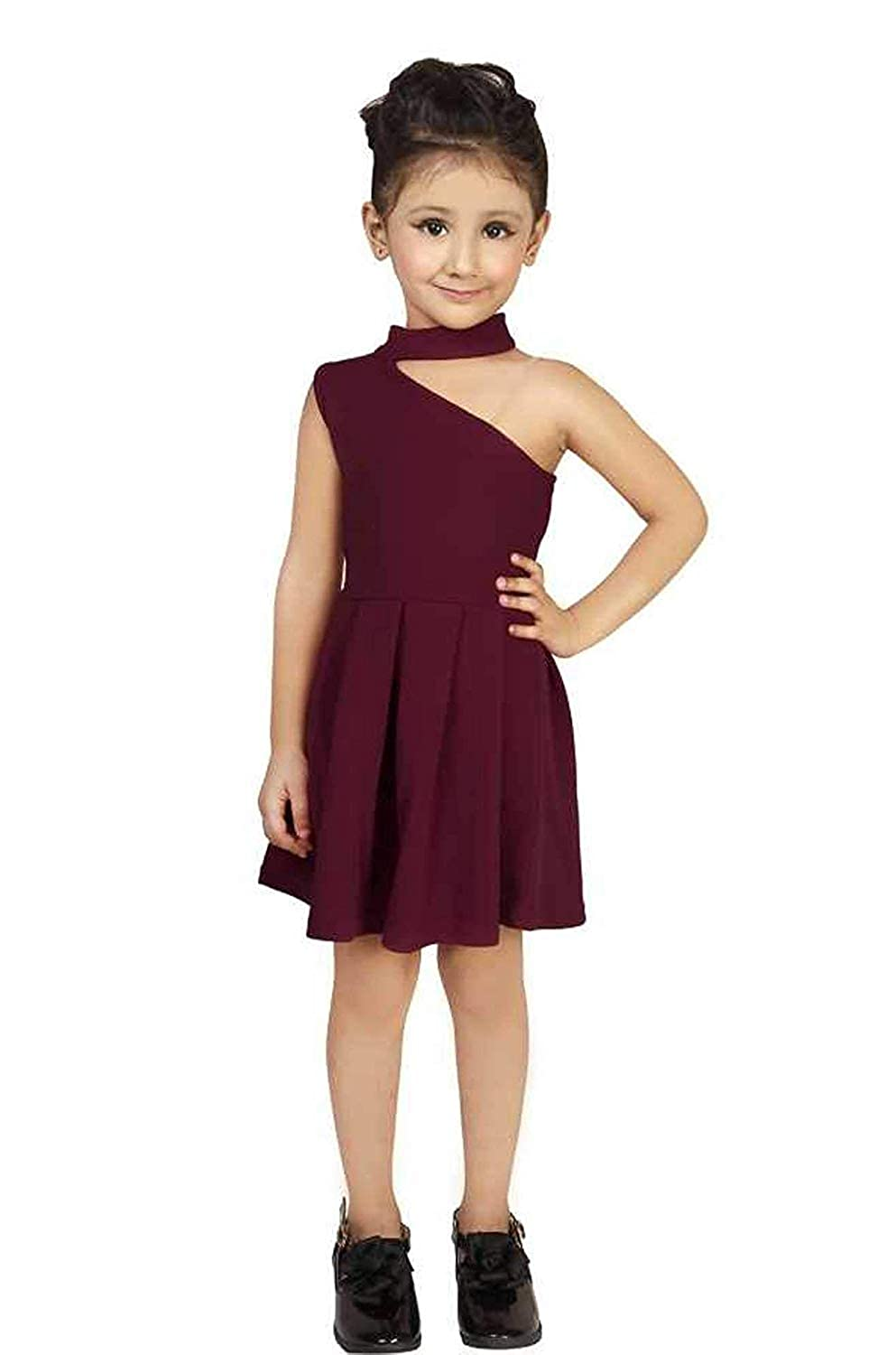 OMNI TRENDS Frogs for Girls   One Peice   Beautiful Elegant Latest Modern  Girls Dresses, Festival   for Kids 18 18 Years