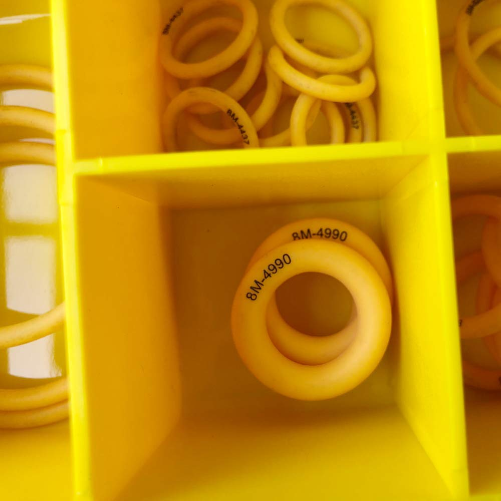 BUSY-CORNER 4C8253 Silicone O-Ring Kit for CAT 2701533 4C8253 Replacement Parts Silicone O-Ring Kit Assortment for Caterpillar