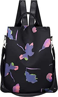 Wishliker Damen Rucksack Anti Diebstahl Umhängetasche Multifunktions Schultaschen wasserdichte Tagesrucksack