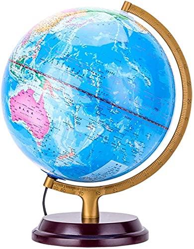 2-in-1-LED-Weltkugeln, Desktop-Dekoration Geografische interaktive...