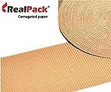 Rollos de papel de cartón corrugado, 600 mm x 5 m, 10...