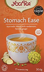 Organic, Caffeine free, Herbal Tea Ayurvedic blend with cardamom, fennel, ginger Contains fennel, liquorice and peppermint leaf, praised for their beneficial effect on digestion Enjoy a cup during or after a meal 17 bags individually wrapped teabags