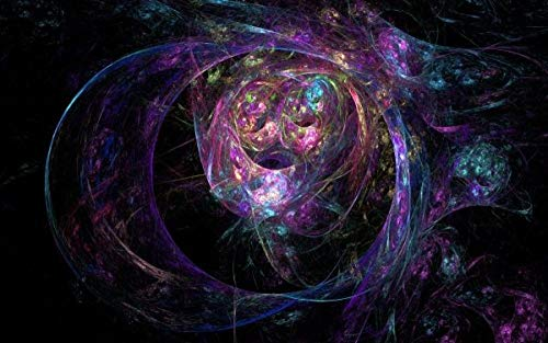 KDNM puzzle 1000 piezas,Sci-Fi Universe,Obra de Arte de Juego de Rompecabezas para Adultos, Adolescentes, Rompecabezas de madera impreso en HD multicolor(75x50cm)