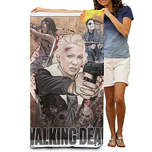 Las toallas de playa Walking Dead, toallas de baño, suaves y agradables al tacto, para acampar