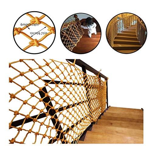 Fallschutznetz für Kinder, Leiter für Kinder, Balcone, Netz für Kindergarten, Dekoration für den Zaun, Balkon, Treppe, für Haustiere, Netz für Katzen 1x9m