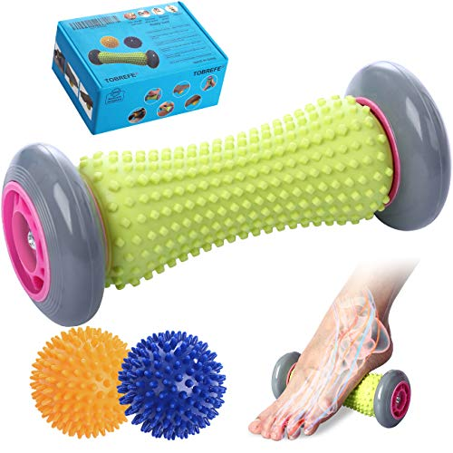 Ryson Foot Roller Massage Ball for Relief Plantar Fasciitis and...
