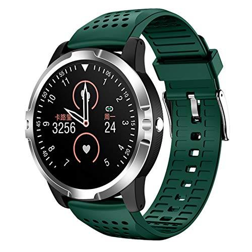 YXJ Reloj Inteligente Go3 Ronquido De Presión Arterial Monitoreo De Deportes Reloj Deportivo Tracker ECG HRV Fitness Tracker Pulsera Pulsera,B