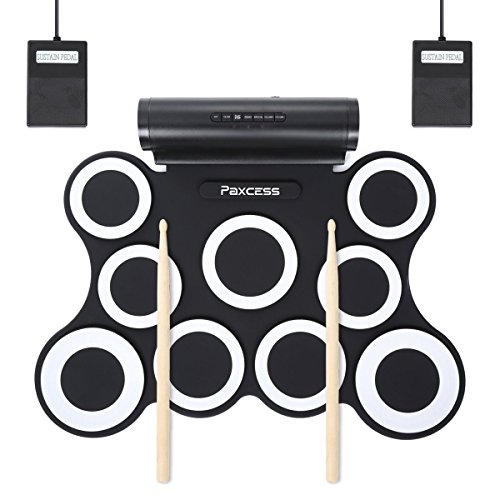 Paxcess Roll Up MIDI Drum Kit