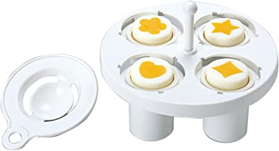 Bentousa Decorative Hard Boiled Egg Yolk Mold 4 Shapes