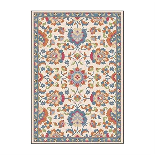 artkingdom Alfombra de la Sala de Estar Dormitorio de la casa Área de decoración de la Alfombra Colorido y Hermoso tamaño de Letra pequeña 80 * 160 cm