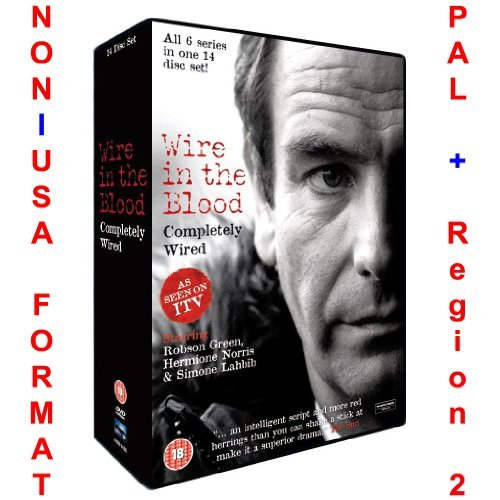 Wire In The Blood: Completely Wired - Series 1-6 Collection [NON-U.S.A. FORMAT: PAL Region 2 U.K. Import]