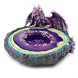 Statuettes Fées & Dragons : Cendrier Dragon, Heroic Fantasy, H L13 cm