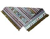 iinfinize – Indischer Kelim-Teppich, Wolle, Jute, Kelim-Teppich, handgewebt, Vintage-Stil, Kelim-Teppich, dekorativer Kelim-Läufer, wendbarer Überwurf, traditionelle Bodenmatte - 3