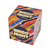 Kit de Juego de Bingo clásico | Anfitrión de su Propia Noche de Juegos | Contiene Máquina de Ruedas de Bingo de Metal |para Adultos, niños, diversión Familiar, después de la Cena, Navidad, Regalo