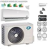 Diloc Frozen Climatiseur inverter mural - R32, 9000Btu et...