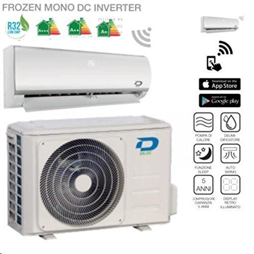 Diloc Frozen Climatiseur inverter mural - R32, 9000Btu et compresseur Sharp –D....