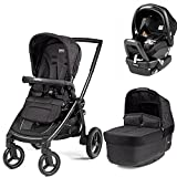Peg Perego Team Stroller with Primo Viaggio Nido Car Seat - Onyx