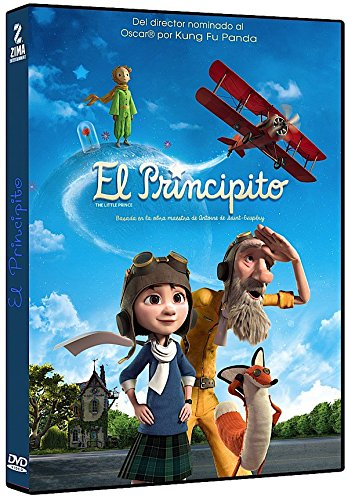 El Principito New product!! 2015 DVD Region 1 French 4 Spanish Audi and New product type