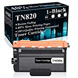 1 Black TN820 Toner Cartridge Replacement for Brother DCP-L5500DN L5600DN L6700DW L6750DW L5700DW L5900DW L6800DW L6200DW L6250DW L5000D L5200DW Printer,Sold by TopInk