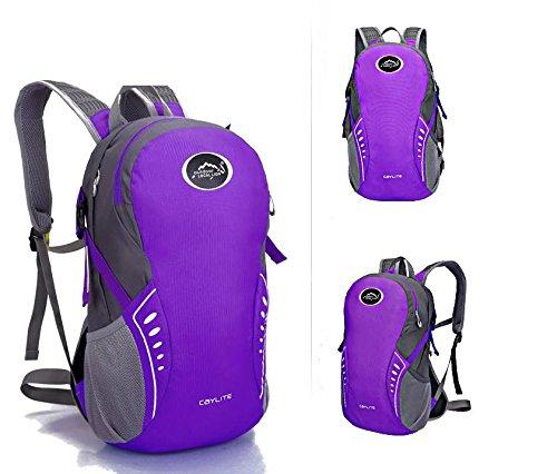 Extérieur élégant portable sac à dos sac à dos sac à dos de vélo , purple