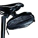 Bolsas para Sillines Bicicletas, Bolsa Sillín Bicicleta Impermeable, Alforjas para Sillín Bicicleta, Bolsas Sillines, con Banda Reflectante, para Varias Bicicletas y Bicicletas Montaña Aire Libre