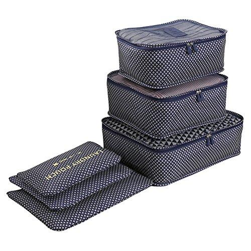 Organizer per valigie 6 Set Sistema di Cubo di Viaggio (2)