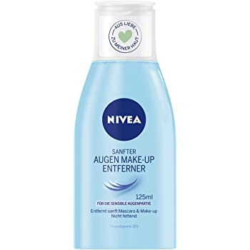 NIVEA Desmaquillador de Ojos Doble Acción (1 x 125 ml), líquido ...