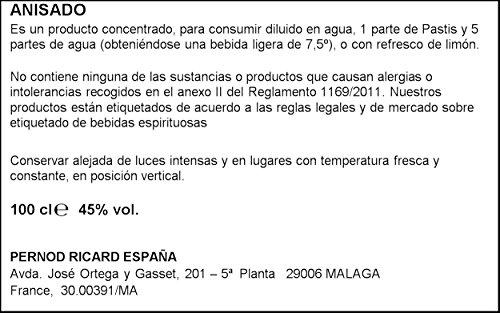 Ricard Pastis / Französischer Likör mit Sternanis, erfrischendem Kräuteraroma & Süßholzsaft / Spirituose mit universeller Mixbarkeit / 1 x 1 L - 3
