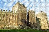 Rompecabezas para Adultos Portugal Guimaraes Castle Puzzle 1000 Piezas Recuerdo de Viaje de Madera