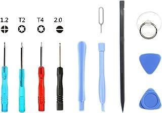 Deluxe Cell Phone Repair Tool Kits Compatible with iPhone 6 Plus JF-8161 8 in 1 Battery Repair Tool Set Repair Kits