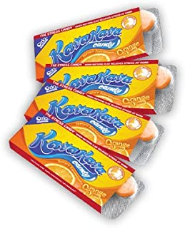 Kava Stress Relief Candy from Hawaii Orange Flavor - 4 Pack