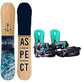 Dybory Snowboard Snowboard para Mujer con Botas...