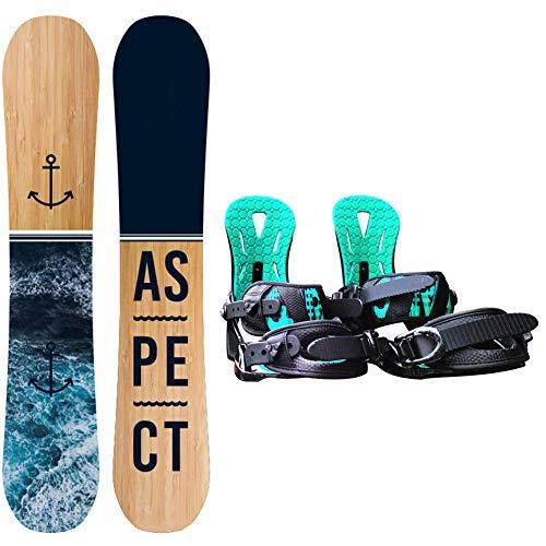 Dybory Snowboard Snowboard para Mujer con Botas Professional, Ideal para Principiantes, Construcción Sólida,Length 157cm(Boots Size M)