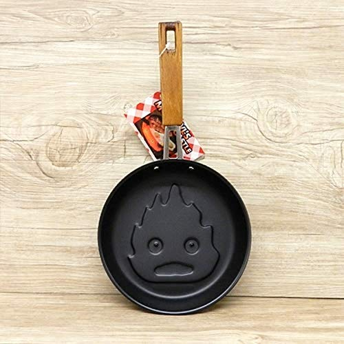 Calcifer Pan For Funny Morning Pancakes