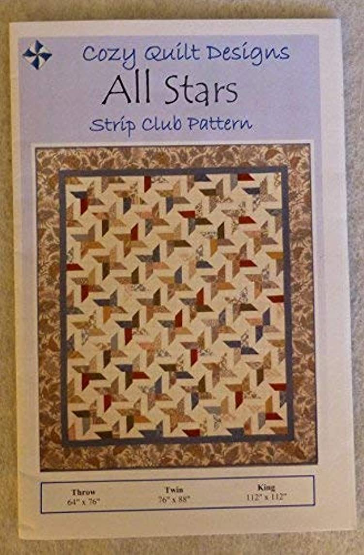 ALL STARS Quilt Pattern for 2 1/2