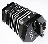 Cherrystone Accordéon Concertina noir 2 x 10 touches
