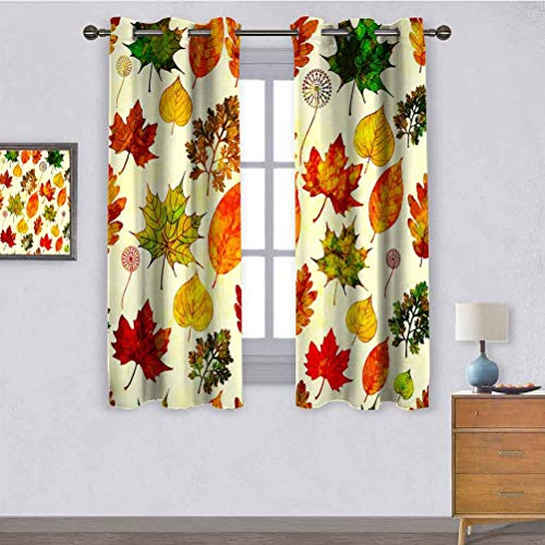 ScottDecor Modern Kids Curtain Autumn Seamless Pattern with Goat 2015_216130882
