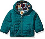 Columbia Kids' Toddler Double Trouble Jacket, Pine Green/Pine Green Critter Block, 3T
