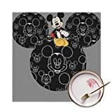 Placemats Set of 4 - Mickey Mouse Place Mats for Kitchen Dining Table Decoration