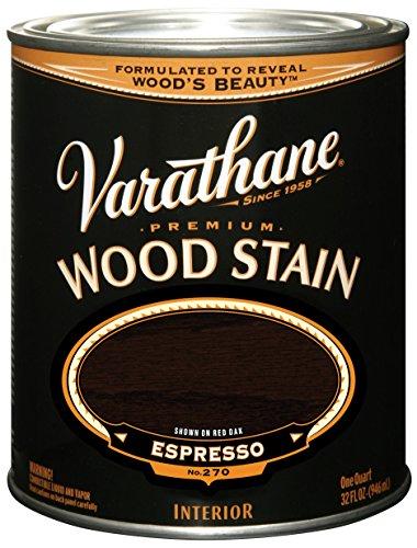 Varathane 241412H Premium Wood Stain, Quart, Espresso