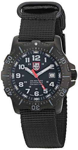 Luminox 4221.CW - Reloj para Hombres, Correa de Tela Color Negro