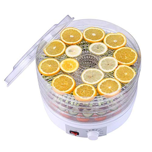Best Price Food dryer Fruit Dryer, 5 Layer Tray Temperature Regulation Household Dry Food Machine fo...