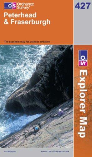 OS Explorer map 427 : Peterhead & Fraserburgh
